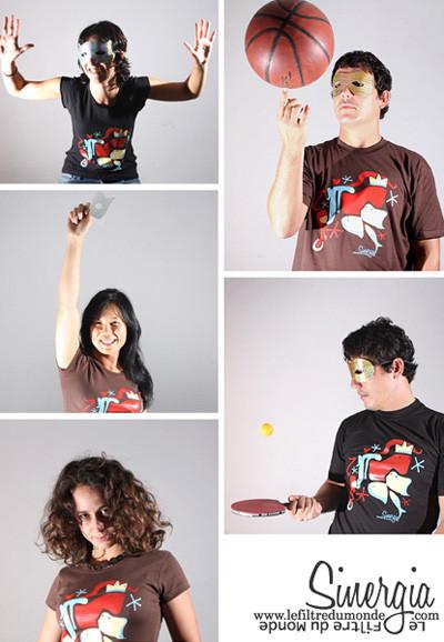 La nueva camiseta de Le Filtre du Monde es Sinergia
