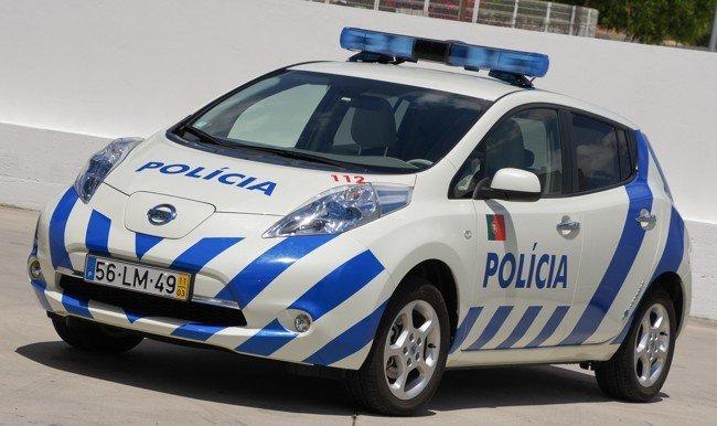 Nissan LEAF Policía Portugal