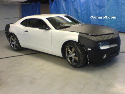 El Chevrolet Camaro casi desnudo