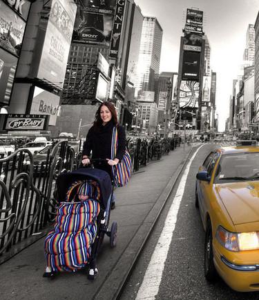 Los sacos más bonitos y calentitos para el carrito del bebé