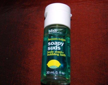 Jabón de limón de Bliss, lo probamos