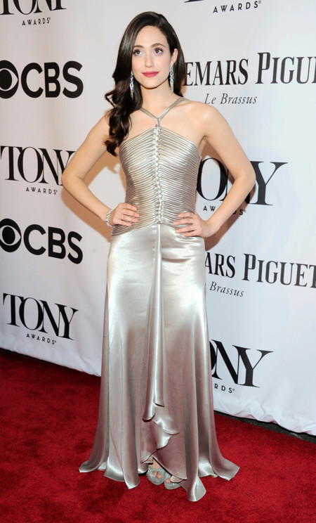 Emmy Rossum Tony Awards 2014