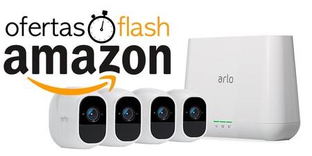 Ofertas Flash para toda la gama de videovigilancia Arlo Pro 2 de Netgear hoy en Amazon