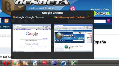 DockbarX, la barra de tareas de Windows 7 en GNOME