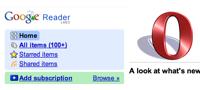 Haz que Google Reader se vea bien en Opera