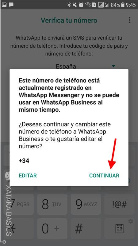 C mo crear una cuenta en whatsapp business for De donde es el telefono