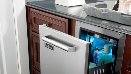 ¿Un frigorífico en el baño?