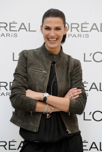 Laura Sánchez perfecta en una presentación en Madrid II