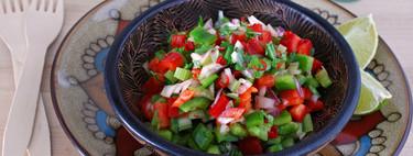 35 ensaladas y platos de verduras frescos, rápidos y fáciles para perder peso