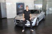 Marco Calvo y su nuevo Mercedes SLS AMG despiertan nuestra envidia ¿o nuestra compasión?