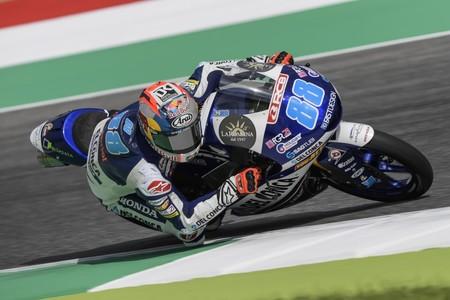 Jorge Martín se hace con su sexta pole de la temporada de Moto3 en el GP de Alemania