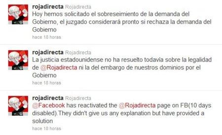 Tras fracasar el recurso, RojaDirecta se queda sin dominio en EE.UU.