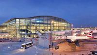 La terminal 5 del aeropuerto de Londres se convierte en la 'Terminal Samsung Galaxy S5'