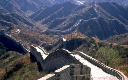 El ojo humano no ve la Gran Muralla China desde el espacio