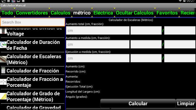 Manual Calculator