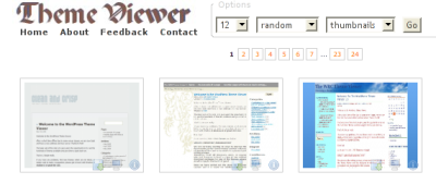 Theme Viewer, elige tema para tu WordPress