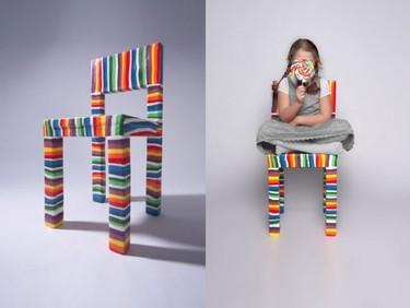 SugarChair, ¿cuánto durará esta silla de caramelo?