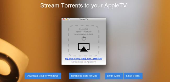 TorrenTV: streaming de torrents directamente a un Apple TV
