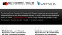 Electronic Frontier Foundation prepara un plan para recuperar archivos de Megaupload, al menos en EEUU