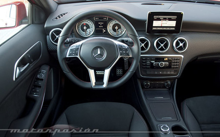 Mercedes-Benz A 250 BlueEfficiency, prueba