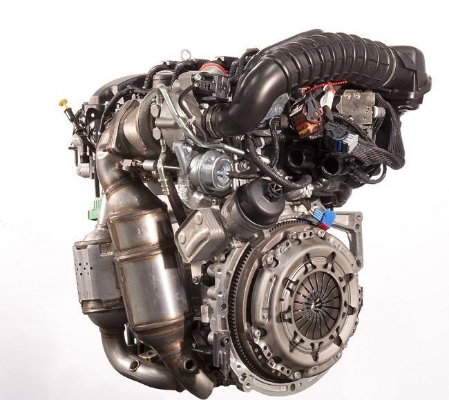 Motor gasolina con válvula EGR