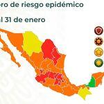 Un tercio de México se va a semáforo rojo de COVID: son 10 estados en total los que están en máximo nivel de contagio