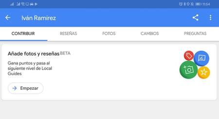 Google Maps hace más fácil colaborar enviando fotos y reseñas con el nuevo menú para Local Guides