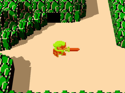 Ya puedes jugar al Zelda original en 3D desde tu navegador