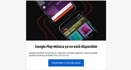 Google Play Music No Disponible