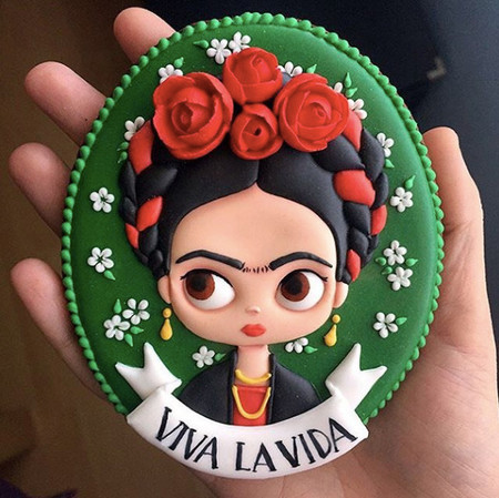 Galleta de Frida Kahlo