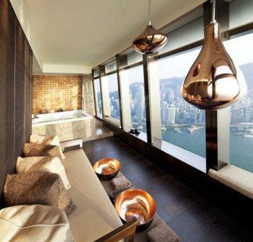 La suite del spa del Ritz Carlton de Hong Kong