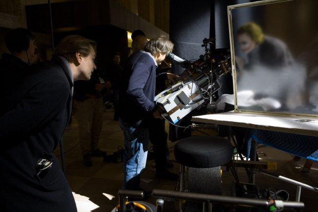 Christopher Nolan en el rodaje de 'El Caballero Oscuro'