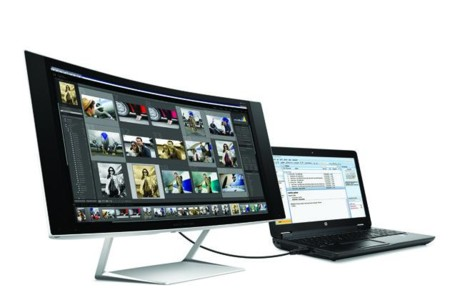 Hp Curved Monitor 630 Wide