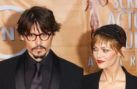 Johnny Depp y Vanessa Paradis en 'My American Dream'