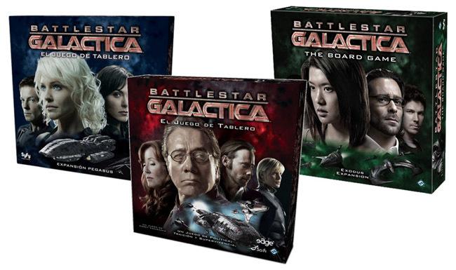 galactica juego de mesa