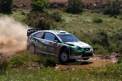 Rallye Cerdeña 1ªEtapa, Latvala sorprende, Loeb manda.