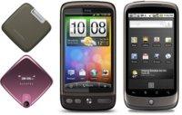 Nexus One y HTC Desire por puntos Vodafone. Alcatel Gloss para prepago