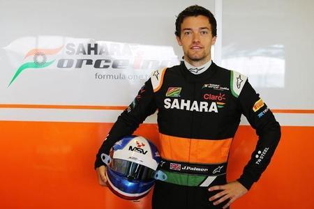 Jolyon Palmer, posible piloto reserva de Force India en 2015