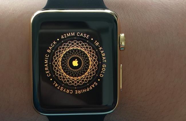 Apple Watch Edition de oro