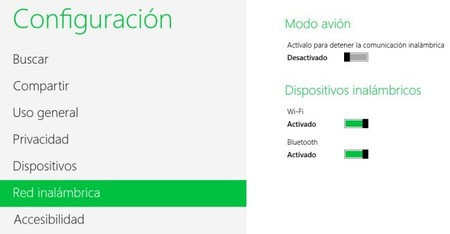 Activar y configurar Bluetooth en Windows 8 y RT