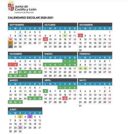 Calendario-escolar-castilla-y-leon-20-21