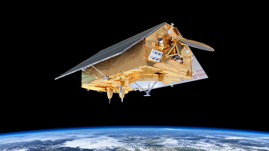 La misión número 100 del Falcon 9 de SpaceX ha sido la de poner en órbita este curioso satélite con forma de