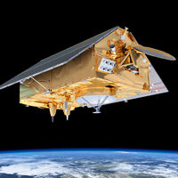 """La misión número 100 del Falcon 9 de SpaceX ha sido la de poner en órbita este curioso satélite con forma de """"casita"""""""