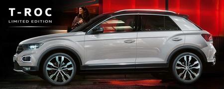 Volkswagen presenta la primera edición especial de T-Roc, sólo disponible por internet