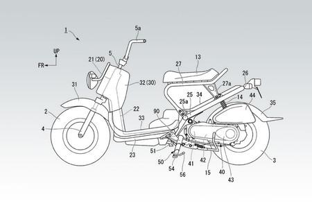 Honda le da una vuelta de tuerca a la pata de cabra con un diseño extensible de tres piezas