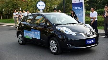 El Venucia e30, el Nissan LEAF chino, se estrenará en septiembre