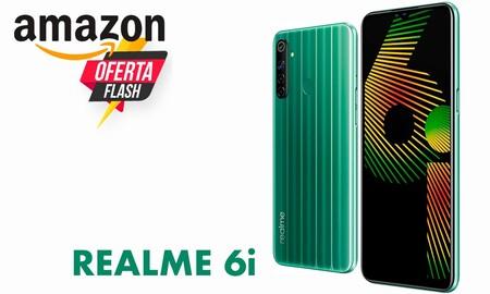 Oferta flash en Amazon para el Realme 6i: hasta las 22:00 lo tienes rozando su precio mínimo, por 119 euros