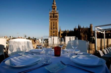 La ruta de las mejores terrazas de espa a para disfrutar - Terraza hotel eme ...