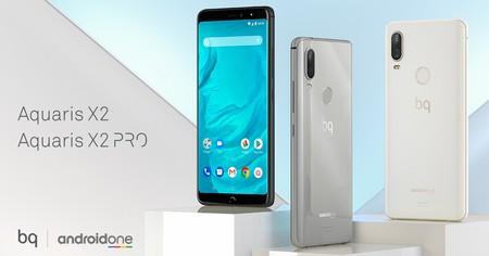 BQ Aquaris X2 y X2 Pro: el fabricante español da el salto a las pantallas 18:9 y cámara doble con un nuevo Android One