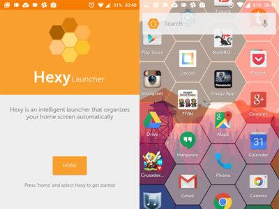 Swiftkey también quiere estar en tu escritorio con un launcher muy curioso: Hexy